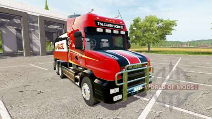 Scania T164 fuel for Farming Simulator 2017