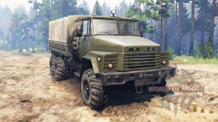 KrAZ-260 for Spin Tires