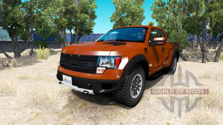 Ford F-150 SVT Raptor v1.5 for American Truck Simulator