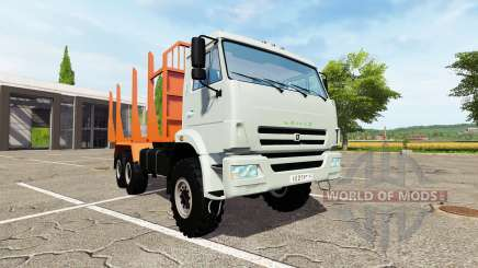 KAMAZ-43118-24 truck for Farming Simulator 2017
