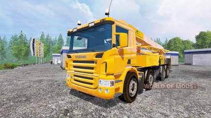 Scania P420 [concrete pump] for Farming Simulator 2015