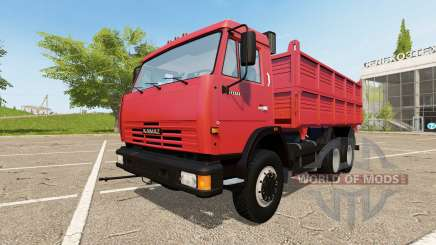 KAMAZ-53215 for Farming Simulator 2017