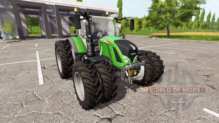 Fendt 724 Vario dual wheels for Farming Simulator 2017