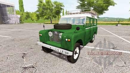 Land Rover Series IIa Station Wagon 1965 v2.0 for Farming Simulator 2017