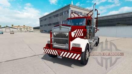 Kenworth W900 Day Cab Heavy Duty for American Truck Simulator