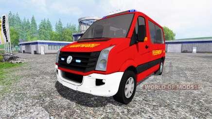 Volkswagen Crafter Feuerwehr for Farming Simulator 2015