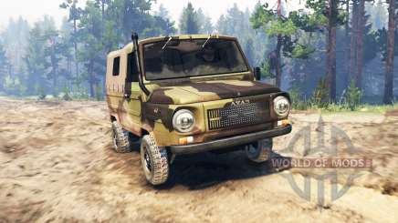 LuAZ-969М Volyn for Spin Tires