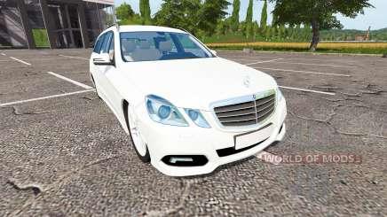 Mercedes-Benz E350 Estate (S212) for Farming Simulator 2017