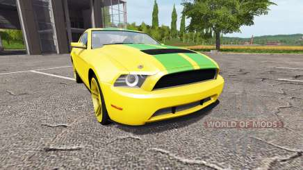 Ford Mustang for Farming Simulator 2017