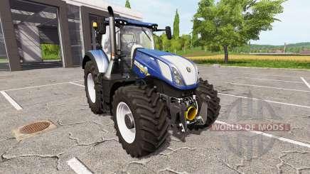 New Holland T7.315 blue power for Farming Simulator 2017