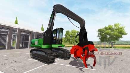 Excavator-harvester dangle for Farming Simulator 2017