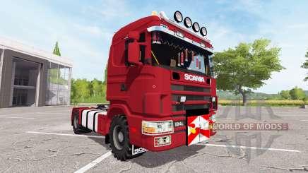 Scania 124L 440 agrar for Farming Simulator 2017