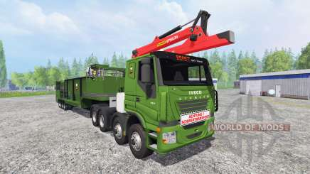 Iveco Stralis [wood chippers] v1.2 for Farming Simulator 2015