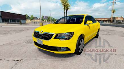 Skoda Superb v2.1 for American Truck Simulator