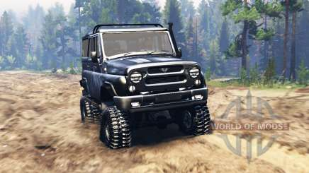 UAZ-31520 for Spin Tires