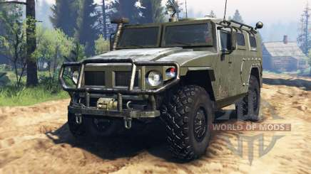 GAZ-2330 Tiger v2.0 for Spin Tires