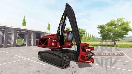Excavator-harvester for Farming Simulator 2017