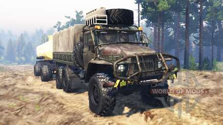 Ural-375 for Spin Tires