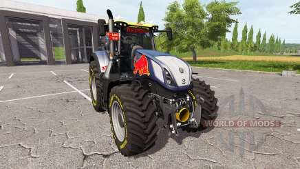 New Holland T7.290 red rikie for Farming Simulator 2017
