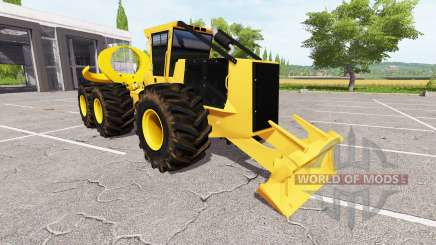 The skidder for Farming Simulator 2017