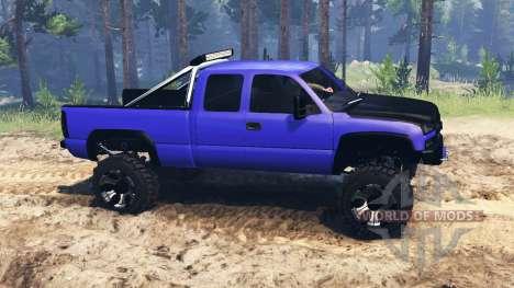 Chevrolet Silverado for Spin Tires