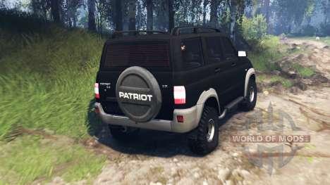 UAZ-3163 Patriot v3.0 for Spin Tires