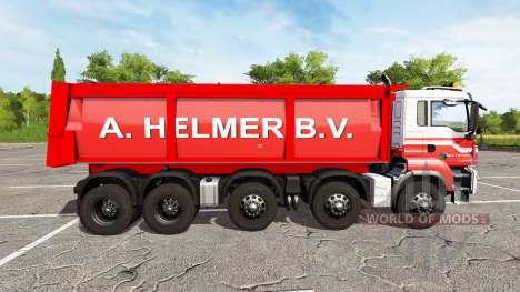 MAN TGS 18.440 A. Helmer B.V. v2.0 for Farming Simulator 2017