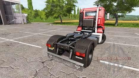 MAN TGS 18.440 v1.4 for Farming Simulator 2017