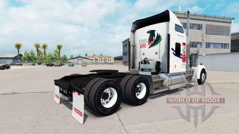 Skin on Tecate truck Kenworth W900 for American Truck Simulator