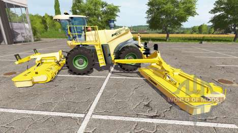 Krone BiG M GTX 750 v1.0.1 for Farming Simulator 2017