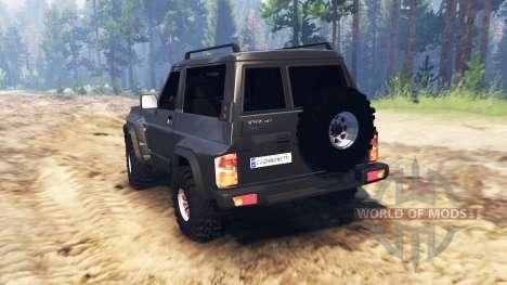 Nissan Patrol GR (Y60) for Spin Tires