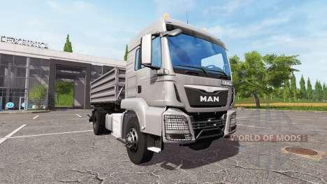 MAN TGS 18.440 tipper for Farming Simulator 2017