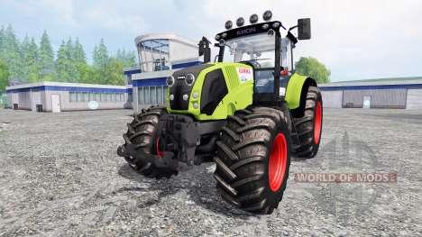 CLAAS Axion 830 for Farming Simulator 2015