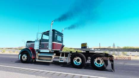 Exhaust smoke v2.6 for American Truck Simulator
