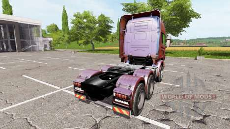 Scania R730 v2.0 for Farming Simulator 2017