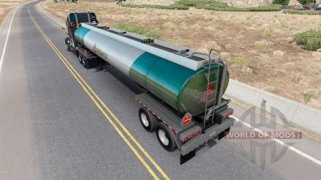 Skin v2 Pemex fuel semi-tank for American Truck Simulator