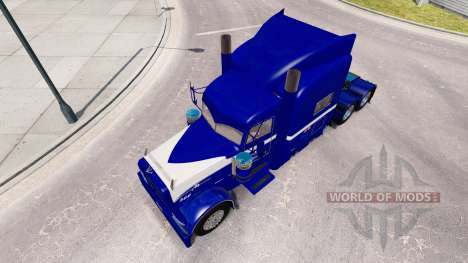 Midwest skin for the truck Peterbilt 389 for American Truck Simulator