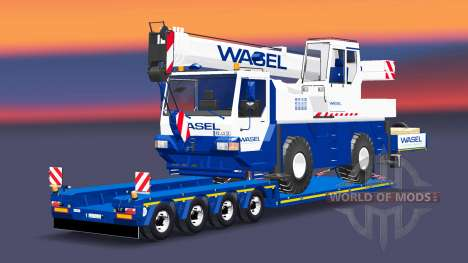 Low sweep with Liebherr LTM 1030 for Euro Truck Simulator 2