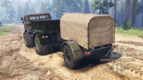GAZ-66 Mammoth Kuzma for Spin Tires