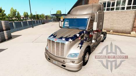 The bumper on the Peterbilt 579 tractor for American Truck Simulator
