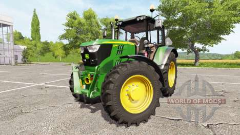 John Deere 6115M v1.2 for Farming Simulator 2017
