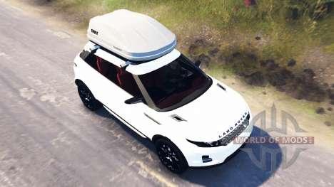 Range Rover Evoque LRX for Spin Tires