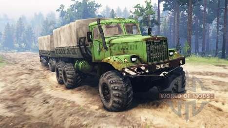KrAZ-255B for Spin Tires