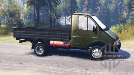 GAZ-3302 Gazelle for Spin Tires