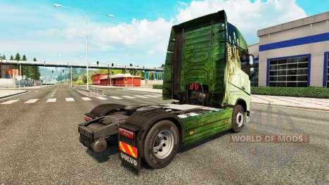 Skin for truck Volvo for Euro Truck Simulator 2