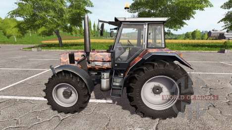 Deutz-Fahr AgroStar 6.61 racing v1.2 for Farming Simulator 2017