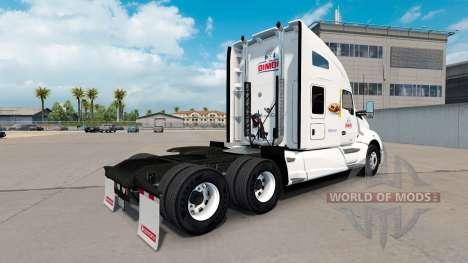 Skin Bimbo on the tractor Kenworth T680 for American Truck Simulator