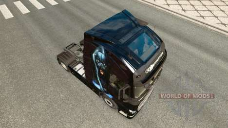 Panther skin for Volvo truck for Euro Truck Simulator 2