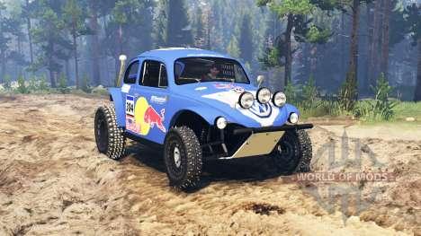 Volkswagen Beetle Baja for Spin Tires