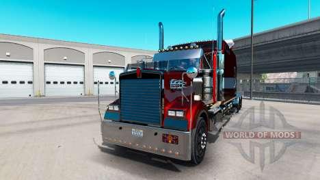 Kenworth W900B Long v1.4 for American Truck Simulator